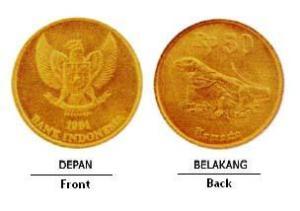 UANG LOGAM INDONESIA UNTUK MAHAR KAWIN